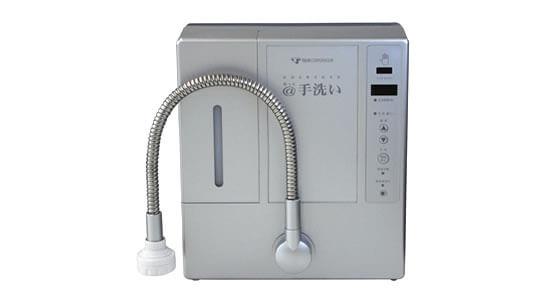 除菌電解水給水器 @手洗い